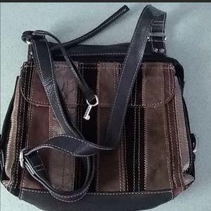 Fossil crossbody organizer purse